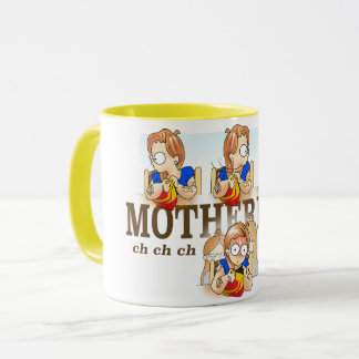 Motherhood Khat Comics Mug