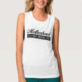 Motherhood Muscles Tank