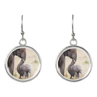Motherly love earrings