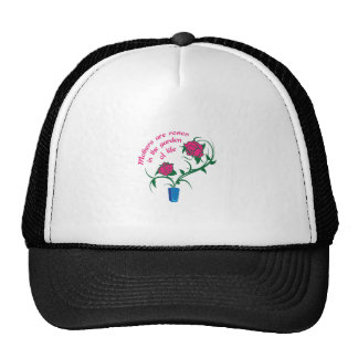 MOTHERS ARE ROSES TRUCKER HAT