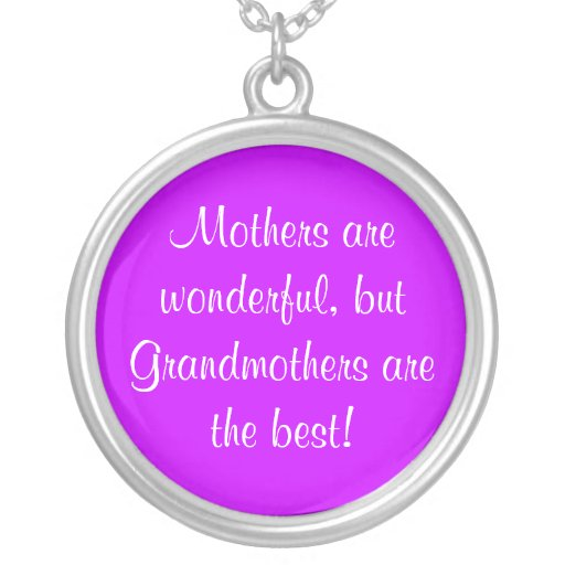 Mothers are wonderful, custom necklace