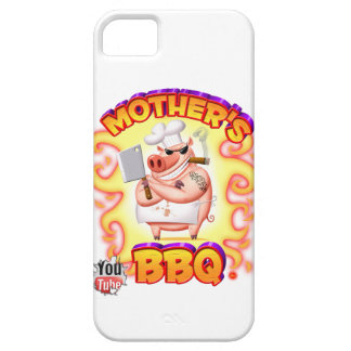 Mother's BBQ Iphone 5s Case W/Flames iPhone 5 Cover
