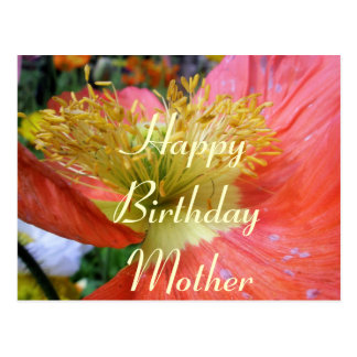 Mothers Birthday Postcard