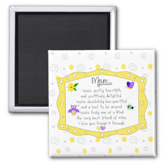 Mother's Day 2017 Square Magnet