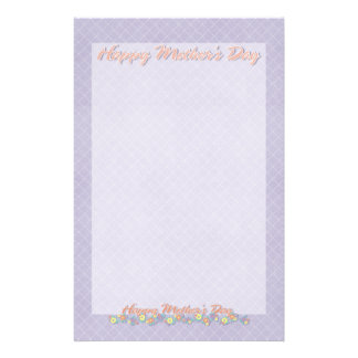 Mothers Day - ADD YOUR PHOTO - Spring Flowers Stationery
