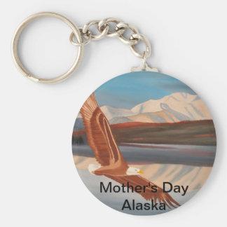 Mother's Day Alaska Keychain