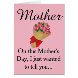 Mother's Day Antinatalist Card