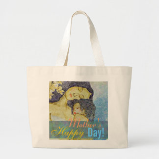 Mother's day  artistic mother and child bags