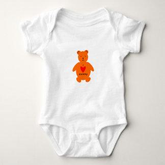 Mothers day bear baby bodysuit