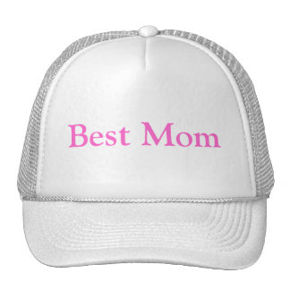 Mother's Day Best Mom Cap