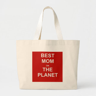 Mother's Day - Best Mom Jumbo Tote Bag