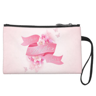 "Mother's Day ""Best Mother Ever"" All Options Wristlet Purses"