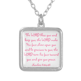 Mother's Day bible verse necklace