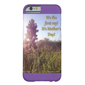 Mother's Day Blue Bonnets Barely There iPhone 6 Case