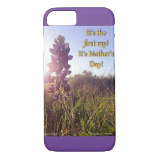 Mother's Day Blue Bonnets iPhone 7 Case