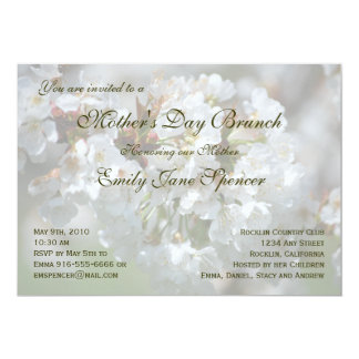 "Mother's Day Brunch Invitation 5"" X 7"" Invitation Card"