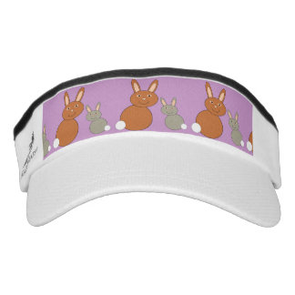 Mothers Day Bunnies Visor