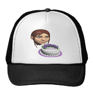 Mothers Day Cake Cap
