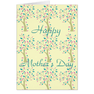 Mother's Day card-FAMILY TREE Greeting Card