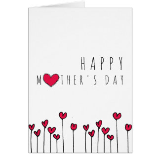Mothers Day Card heart