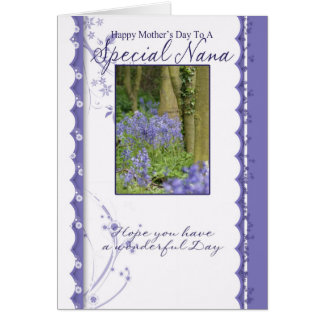 Mother's Day Card, Special Nana Card