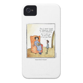 MOTHER'S DAY cartoon by Ellen Elliott iPhone 4 Case-Mate Case