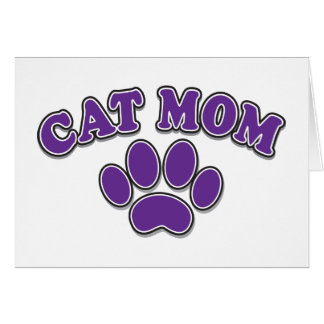 Mother's Day Cat Mom Card