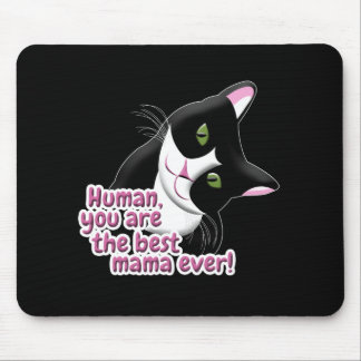 Mother's Day Cat Mouse Pad