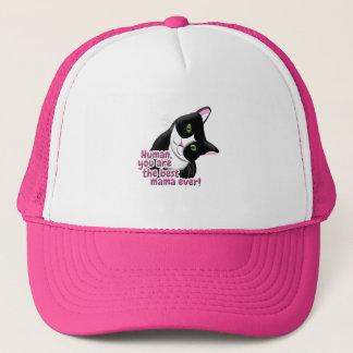Mother's Day Cat Trucker Hat