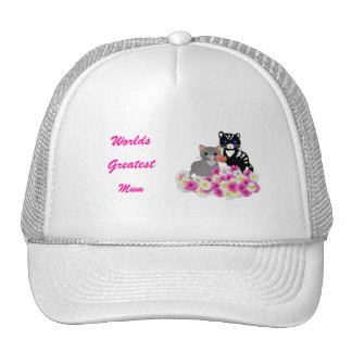 Mother's Day Cats Trucker Hat