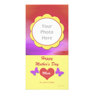 Mother's Day Country Custom Photo Card