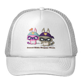 Mother's Day Cute Cartoon Character Hat Funny Cap