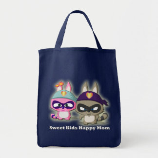 Mother's Day Cute Cartoon Funny Shopping Bag