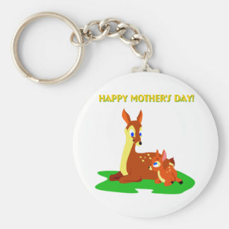 Mothers Day Deer Key Chains