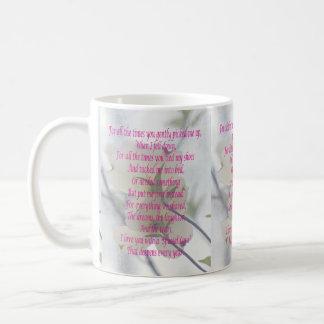 Mothers Day Dogwood Coffee Mug
