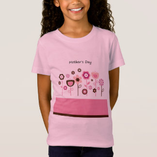 Mothers day : elegant girly t-shirt
