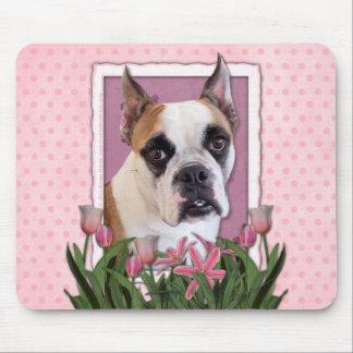 Mothers Day - English Bulldog - Cambridge Mouse Pad