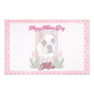 Mothers Day - English Bulldog - Cambridge Stationery Paper