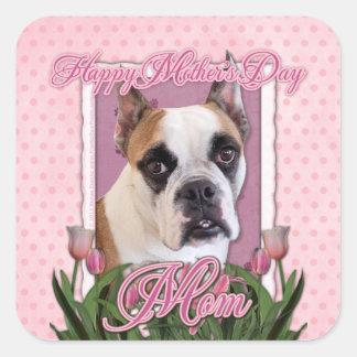 Mothers Day - English Bulldog - Cambridge Sticker