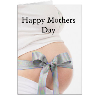 Mother's Day Expectant Mother Greeting Card