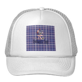 Mothers Day Floral Cap