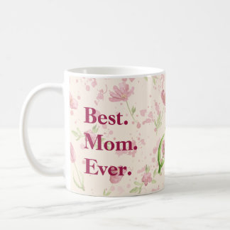 Mother's Day Flowered Watercolor Mug