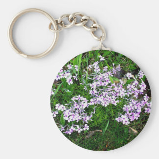 Mother's Day  Flowers Basic Round Button Key Ring