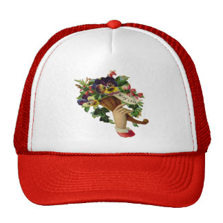 Mother's Day Flowers Cap