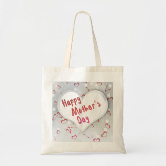Mother's Day Folded Paper Heart - Budget Tote
