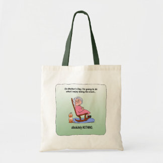 Mother's Day Funny Humorous Maw Tote Bag