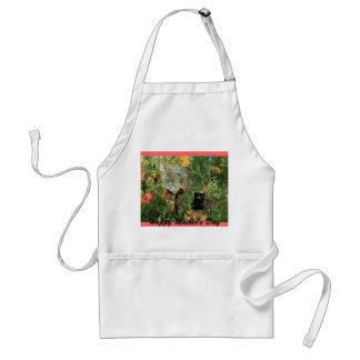 Mother's Day Garden Water Bowl/Bear Native Azalea Standard Apron