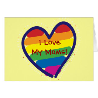 Mother's Day Gay Pride Greeting Card