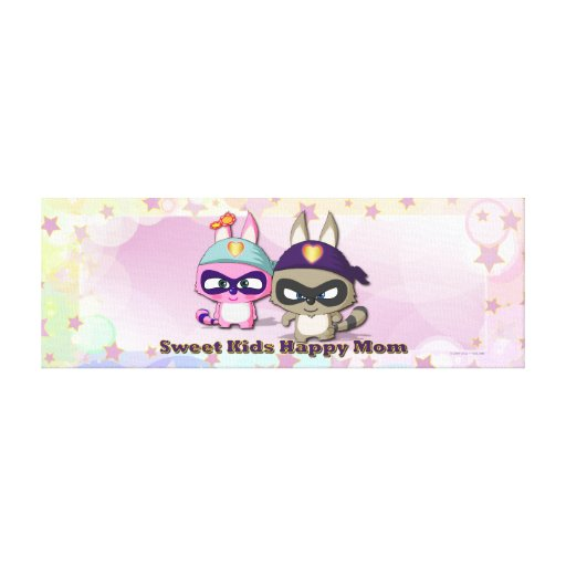 Mother's Day Gift Cute Cartoon Character Canvas Canvas Prints