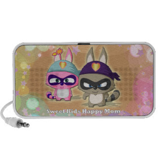 Mother's Day Gift Cute Cartoon Funny Mini Speaker